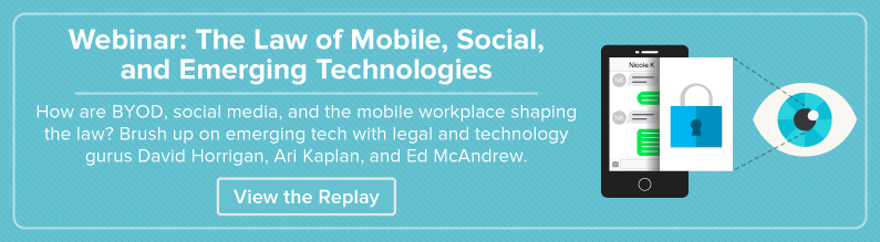 Watch a Video on the Law of Mobile, Social, and Emerging Tech