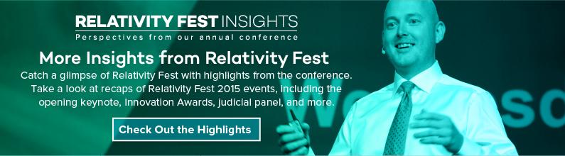 Relativity Fest Highlights