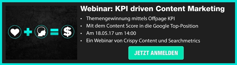 WEBINAR: KPI driven Content Marketing
