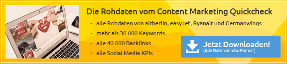 Content Marketing Quickcheck Airlines Download