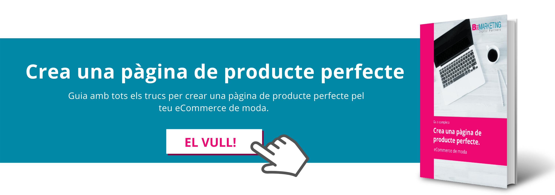 Crea una pàgina de producte perfecte pel teu eCommerce de moda