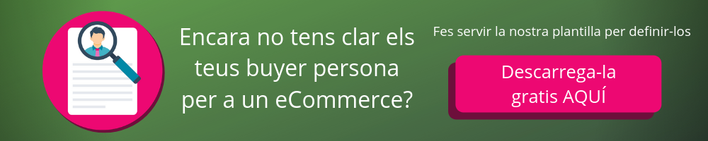 Plantilla buyer persona per ecommerce