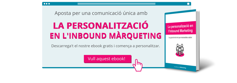 La personalització en l'Inbound Màrqueting BizMarketing