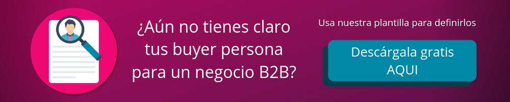 Plantilla Buyer Persona B2B