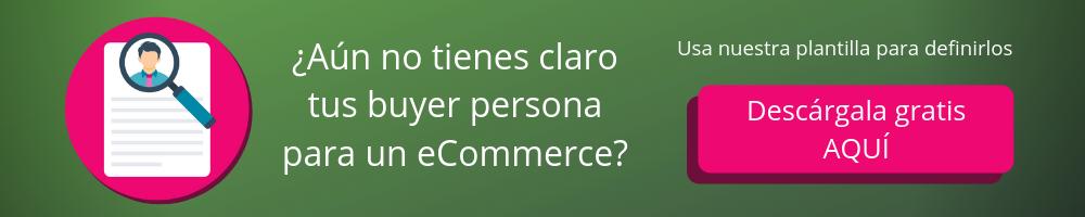 Plantilla buyer Persona para un eCommerce