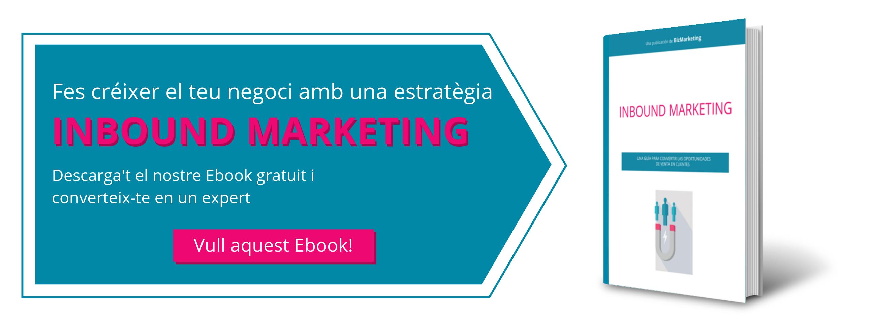 Ebook Fer creixer el teu negoci amb l'Inbound Marketing