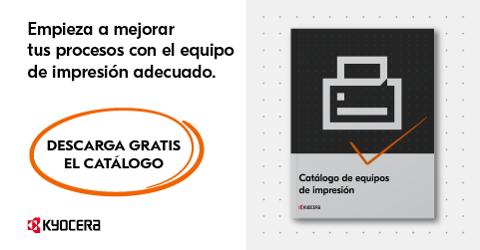 Catálogo de productos Kyocera Multifuncionales e impresoras