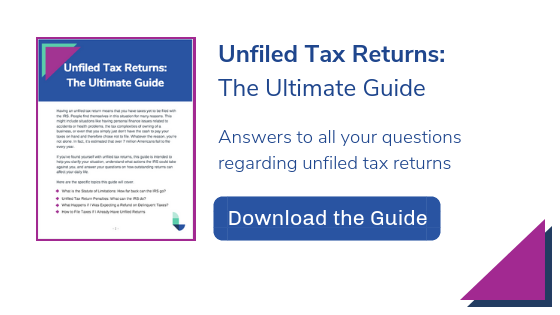 Unfiled Tax Returns Guide