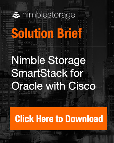 Nimble SmartStack Solution Brief