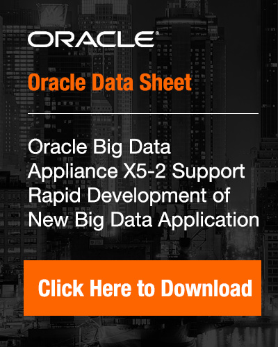 Oracle Big Data Appliance X5-2