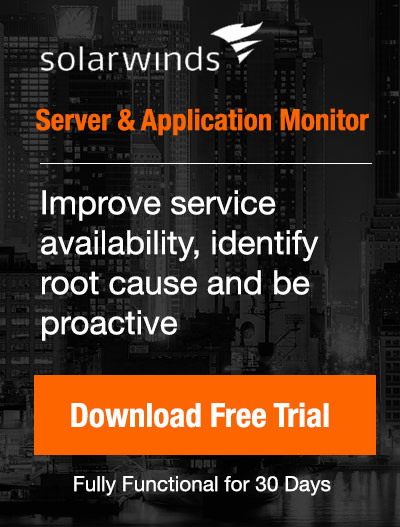 Free Downloads: Sever & Application Monitor