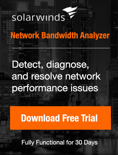 Free Downloads: Network Bandwidth Analyzer