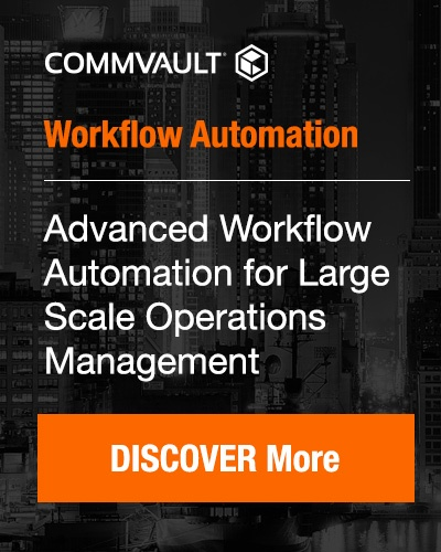 Commvault: workflow automation