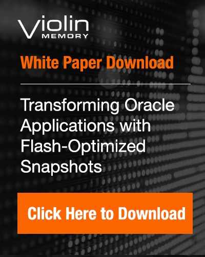white paper download: Transforming Oracle Applications with Flash-Optimized Snapshots