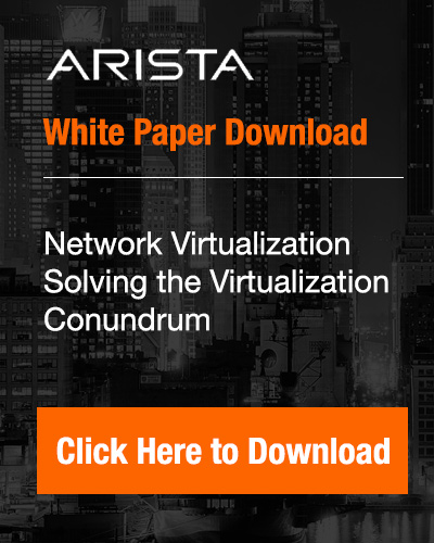 Arista Network Virtualization