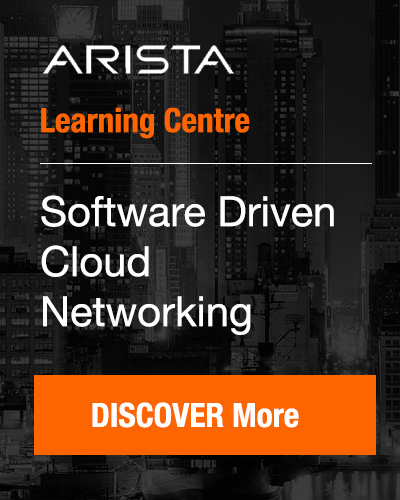 Arista Software Driven Cloud Networking