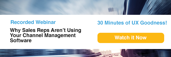 Webinar: Why Sales Reps Aren't Using Your Channel Management Software