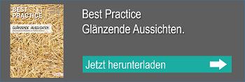Best Practice Kundenmagazin - Glänzende Aussichten.