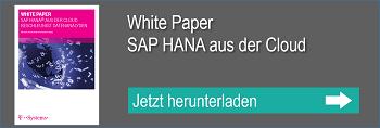 WP SAP HANA aus der Cloud