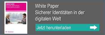 Download Whitepaper Sichere Identitäten in der digitalen Welt