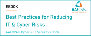 Best Practices for Reducing IT & Cyber Risks - eBook
