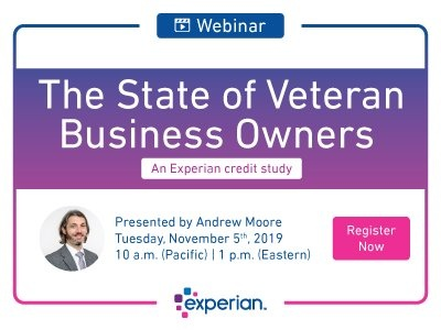 Webinar - The State of Veteran Business Owners Credit Study