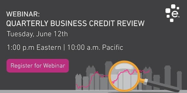 Register to attend our next quarterly business credit review webinar