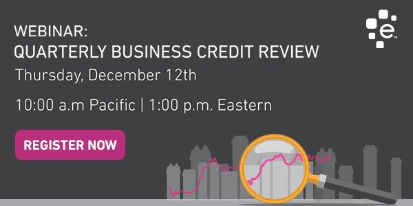 Join us for the Q32019 Quarterly Business Credit Review
