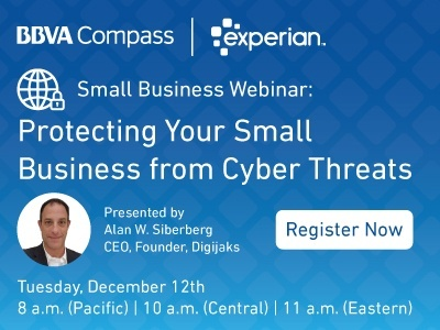Register to attend our upcoming Cybersecurity webinar featuring Alan Silberberg