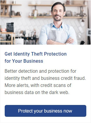 Get identity theft protection for your business