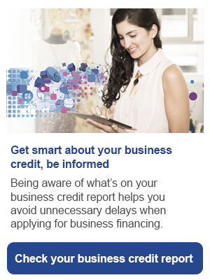 Check your business credit report