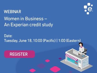Attend the Women in Business credit study webinar