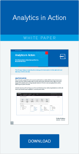 Free Whitepaper: Website Analytics in Action