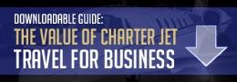 The Value of Charter Jet Travel for your Business