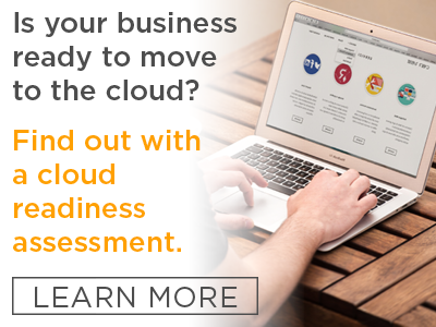 Request a cloud readiness assessment.