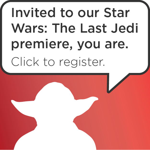 Star Wars Premiere Invitation