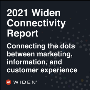 2021 Widen Connectivity Report, Connecting the dots between marketing, information, and customer experience