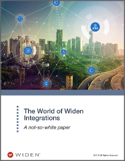 The World of Widen Integrations White Paper