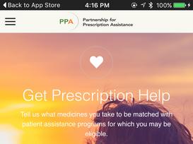 Get the Partnership for Prescription Assistance iTunes app