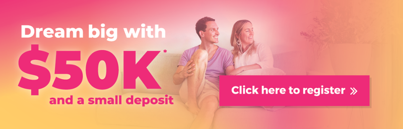 Dream Big With $50K and a Small Deposit