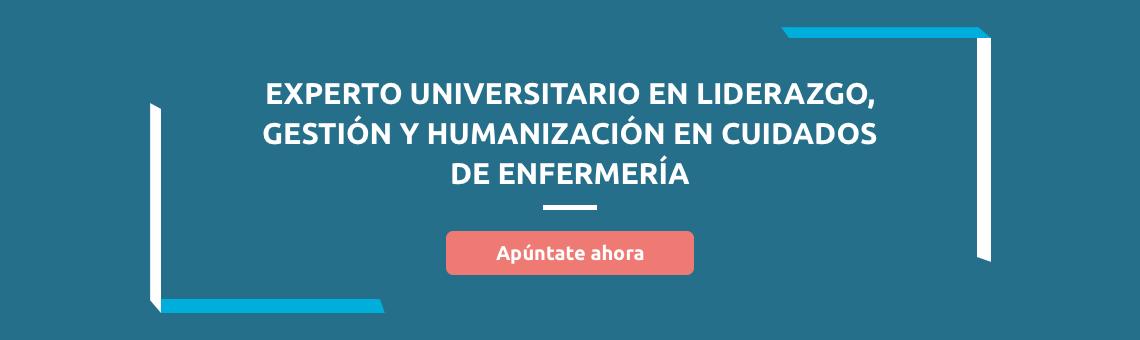 Experto universitario en liderazgo, gestión y humanización en cuidados de enfermería