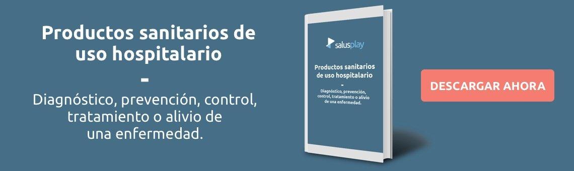Productos sanitarios de uso hospitalario