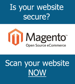 Magento website security scan
