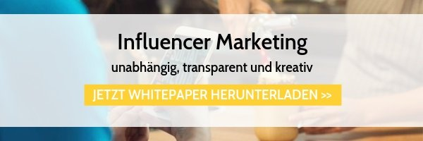 Whitepaper Influencer Marketing