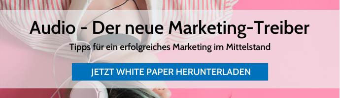 Whitepaper Audio - Der neue Marketing-Treiber