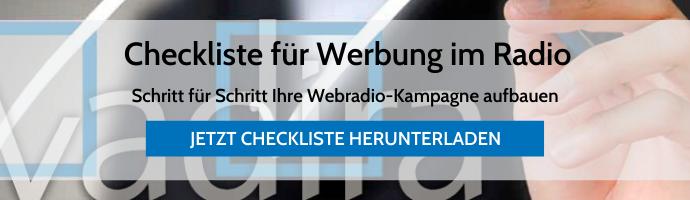 Checkliste Webradio-Kampagne