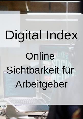 Digital Index: Online Sichtbarkeit für Arbeitgeber