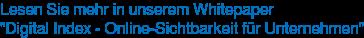 """Lesen Sie mehr in unserem Whitepaper """"Digital Index - Online-Sichtbarkeit für Unternehmen"""""""