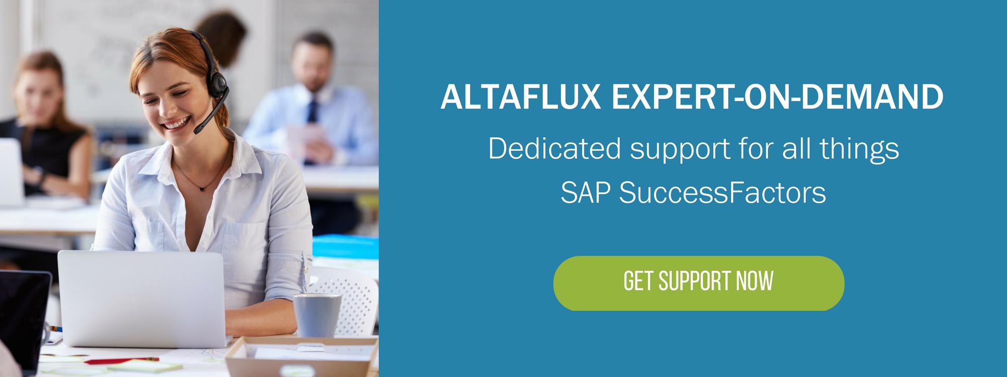 SAP SuccessFactors Support