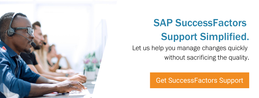 Get SAP SuccessFactors Support Now
